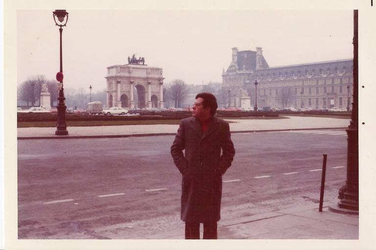 José Guilherme Merquior em Paris, em 1976