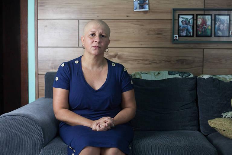 Flaviani dos Santos Custódio, 41 anos,  não conseguia fazer um exame oncológico e, após entrar na Justiça, o plano de saúde autorizou