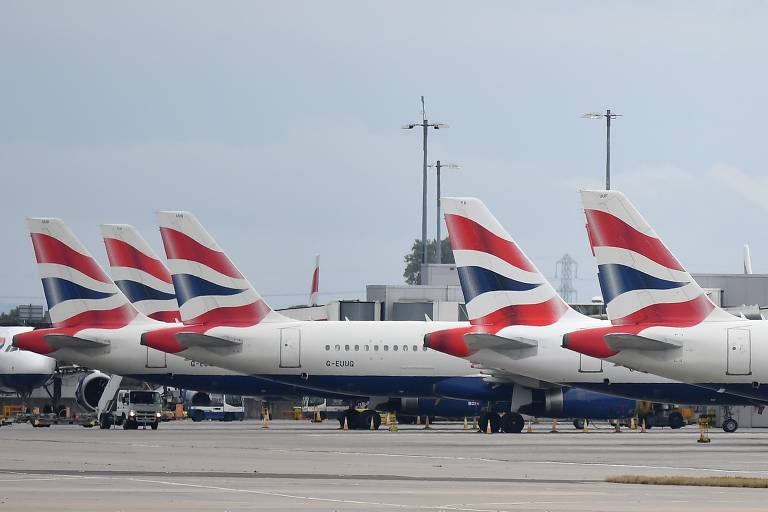 Aviões da British Airways