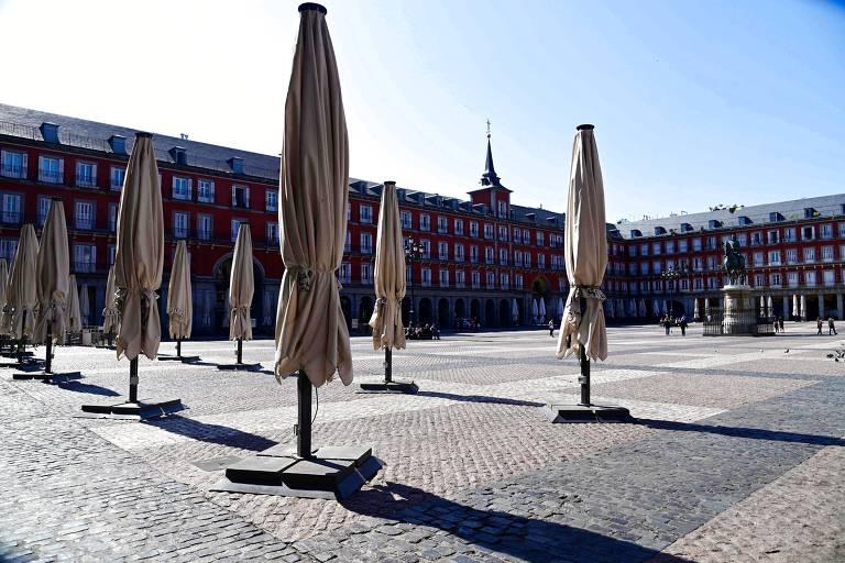Espanha fecha 47 milhões em casa a partir de segunda
