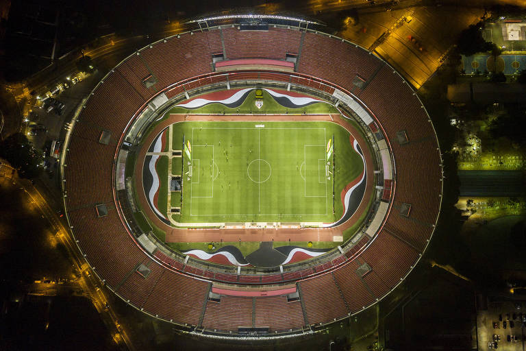 Vista aérea do Morumbi