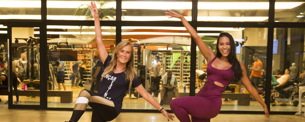 Helô Pinheiro e Carol Cerqueira mostram como a dança ajuda a manter a forma