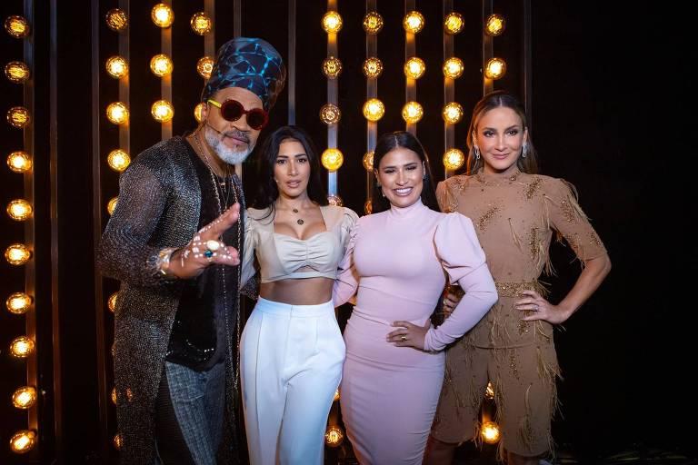 Carlinhos Brown, Simone e Simaria e Claudia Leitte no último dia de batalhas do The Voice Kids