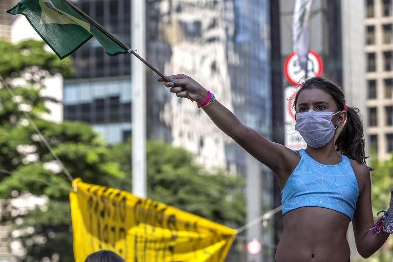 Protestos pró-governo no dia 15/3