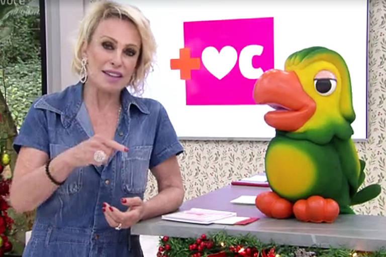 Ana Maria Braga no programa Mais Você