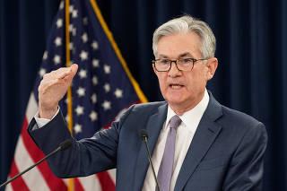 FILE PHOTO: FILE PHOTO: FILE PHOTO: U.S. Federal Reserve Chairman Jerome Powellspeaks in Washington
