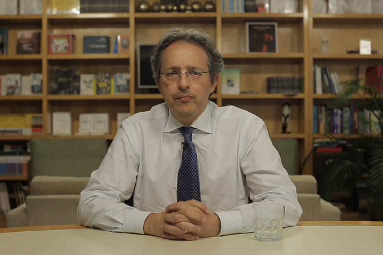 O infectologista Esper Kallas em entrevista para a TV Folha sobre o coronavírus. Reprodução de vídeo da TV Folha. Foto: Jasmin Endo Tran/Folhapress