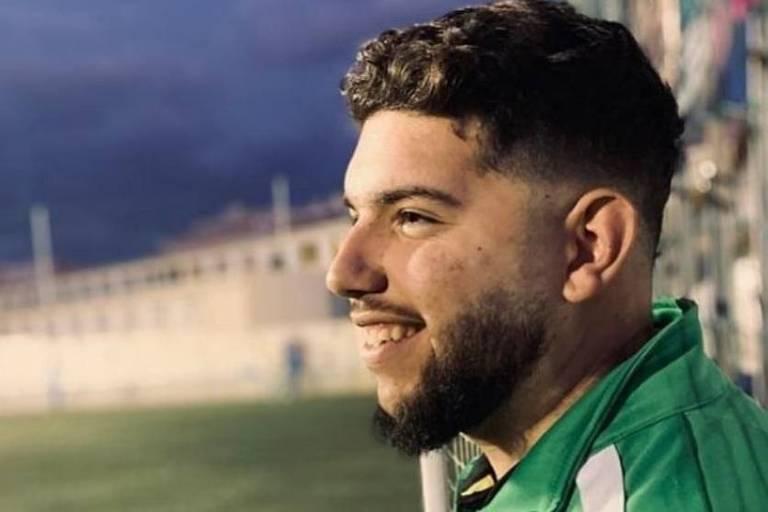 Francisco García, técnico do time juvenil do Atlético Portada Alta, da cidade de Málaga, morreu vítima de coronavírus, aos 21 anos