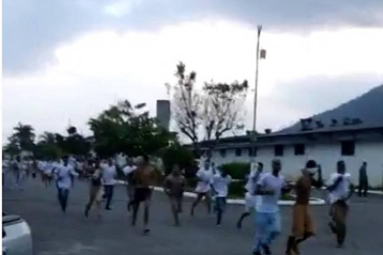 Presos fogem de unidade em Mongaguá