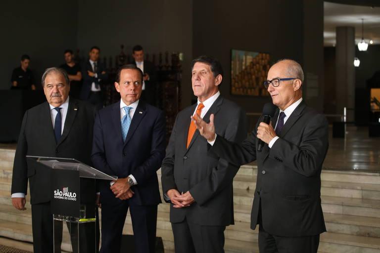 Doria anuncia medidas do governo de SP contra coronavírus