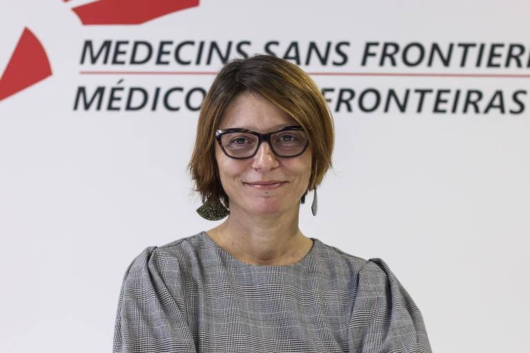 Ana de Lemos -  Diretora-executiva de Médicos Sem Fronteira - Brasil