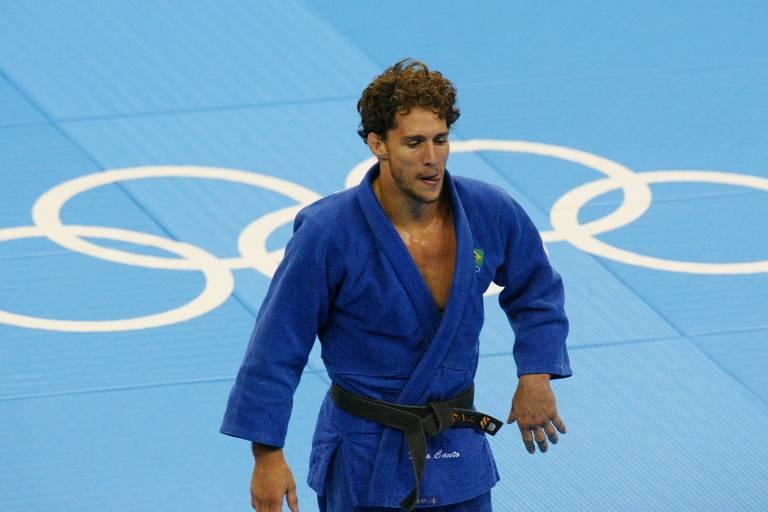 Flávio Canto nos Jogos Olímpicos de Atenas-2004, em que foi medalhista