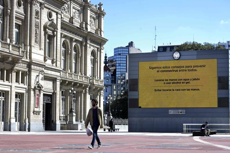 Teatro Colón, em Buenos Aires, cancelou sua agenda até 19 de abril