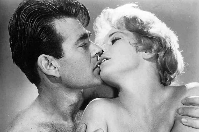 Maria Schell e Stuart Whitman em 'A Marca do Cárcere' (1961)