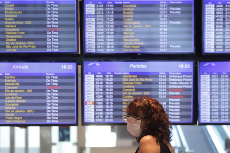 Coronavírus atinge companhias aéreas
