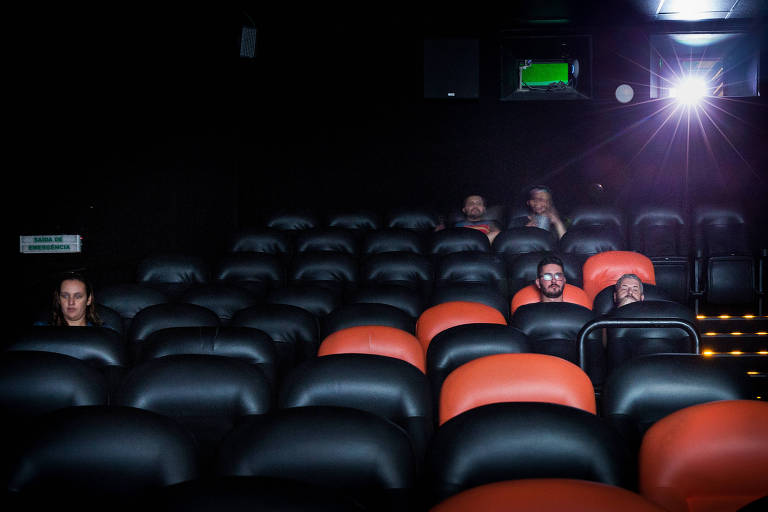 Cinema no centro de São Paulo poucos dias antes do fechamento das salas da cidade