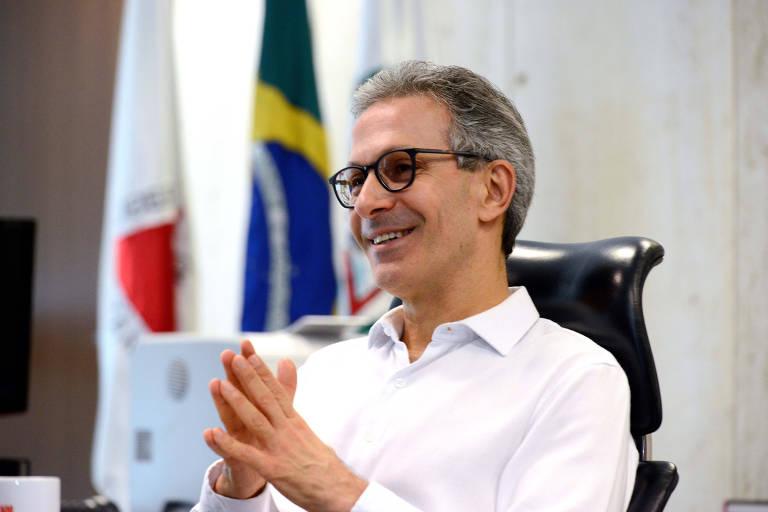 O governador de Minas Gerais, Romeu Zema