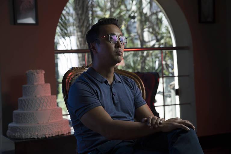 Ricardo Yoshikawa, diretor de um buffet que calcula prejuízo de R$ 500 mil com o coronavírus