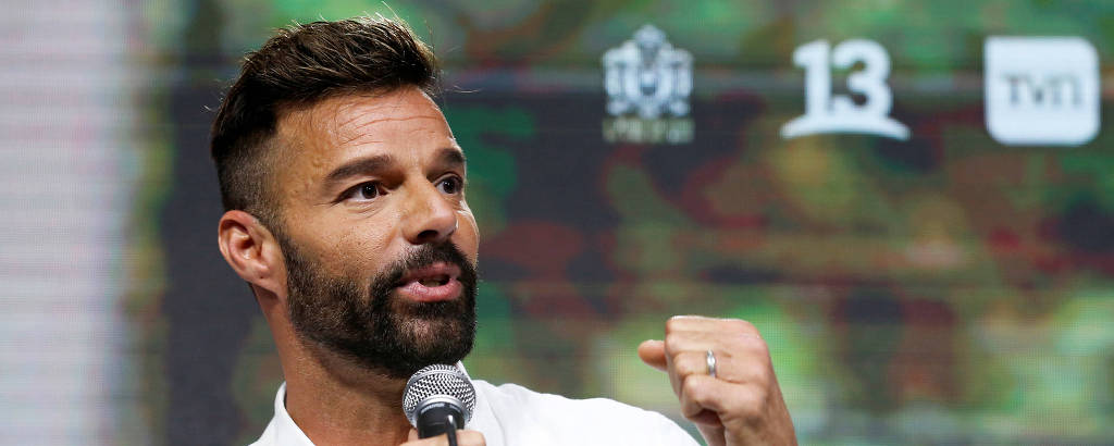 Ricky Martin no 61º International Song Festival em Vina del Mar, Chile