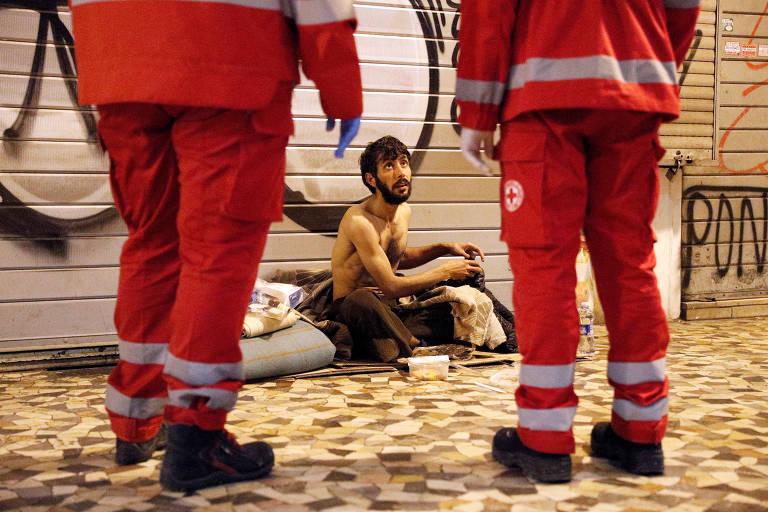 Veja fotos do dia 18 de março na Itália, durante quarentena contra o coronavírus