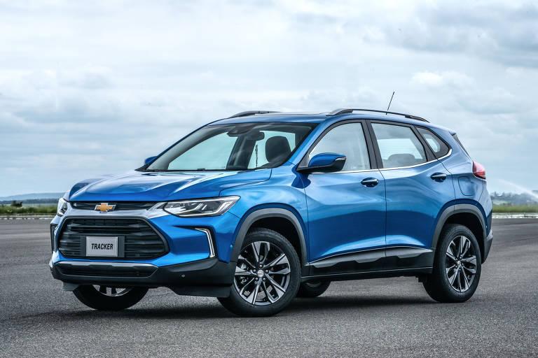 Novo Tracker coloca a Chevrolet na briga entre os SUVs