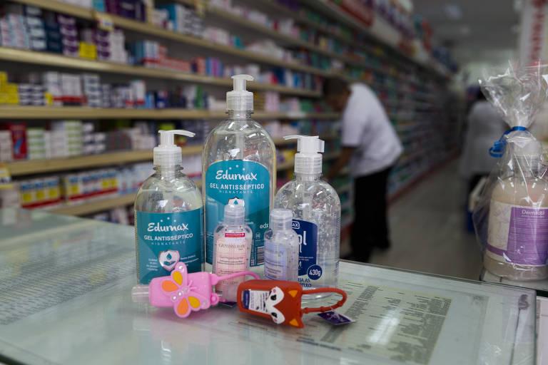 Álcool em gel sofre inflação por causa de coronavírus