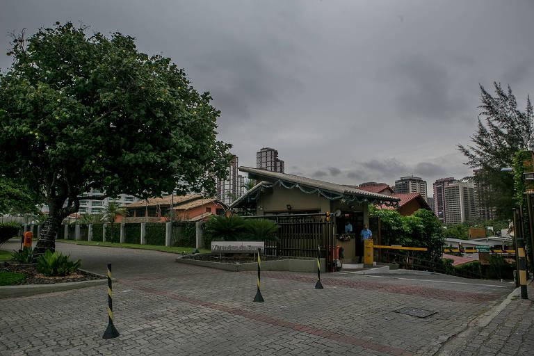 Fachada do condominio Vivendas da Barra, localizado na Barra da Tijuca