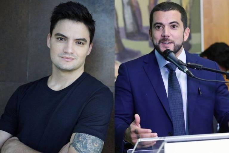 Felipe Neto e Carlos Jordy