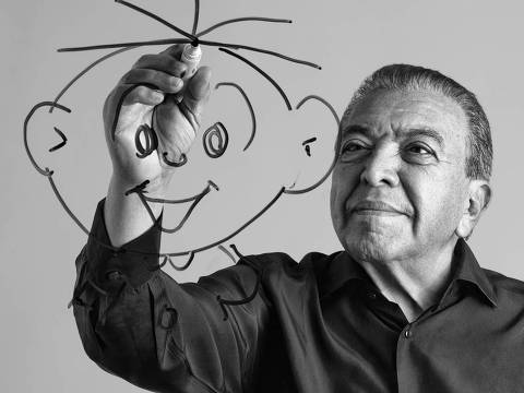 Cartunista Maurício de Sousa, criador da Turma da Mônica *DIREITOS RESERVADOS. NÃO PUBLICAR SEM AUTORIZAÇÃO DO DETENTOR DOS DIREITOS AUTORAIS E DE IMAGEM*