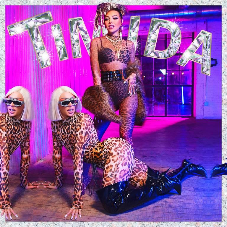 Pabllo Vittar e Thalía gravam o single 'Timida'