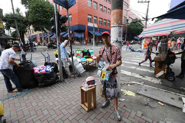 Prefeitura de São Paulo vai retirar ambulantes das ruas com ajuda da GCM