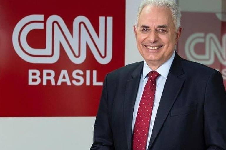 William Waack, principal nome da CNN Brasil