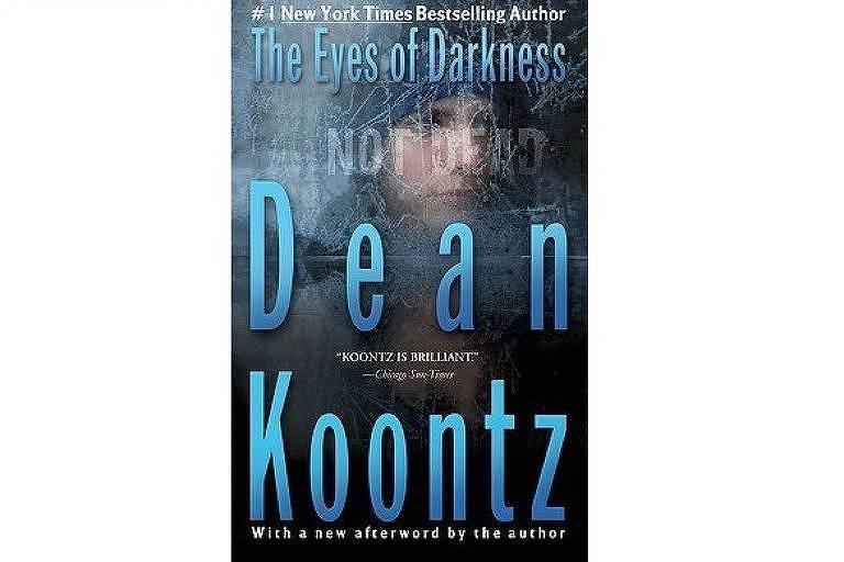 Livro 'The Eyes of Darkness', de Dean Koontz, lançado em 1981
