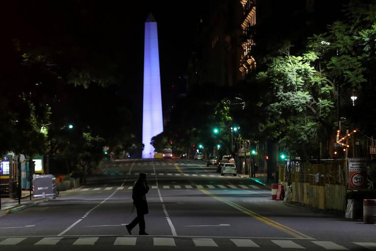 Argentina amanhece sob quarentena total para conter o coronavírus; veja fotos de hoje