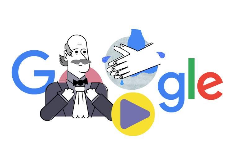 Doodle homenageia médicoIgnaz Semmelweis que ensinou forma correta de lavar as mãos