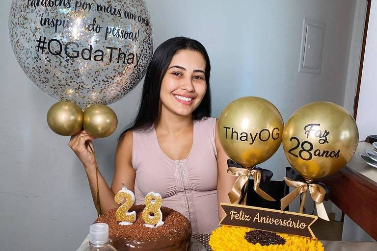 Thaynara OG completa 28 anos de idade