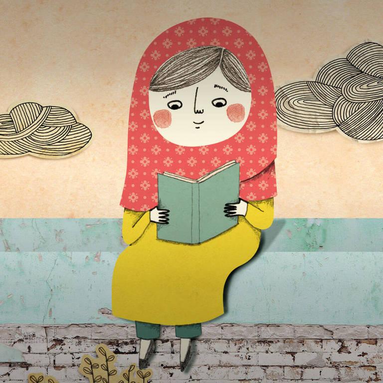 """Ebook infantil """"Malala - A Menina que Queria Ir Para a Escola"""", na plataforma digital do Itaú"""