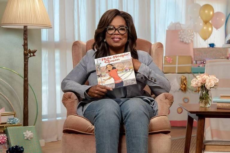 ebook infantil - Oprah Winfrey lê história infantil na plataforma storylineonline