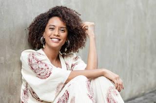 RIO DE JANEIRO, RJ, 06.03.2020: Retrato da atriz Tais Araujo. Projac, Rio de Janeiro (Foto: Zo Guimaraes/Folhapress, Bergamo) ***EXCLUSIVO FOLHA***