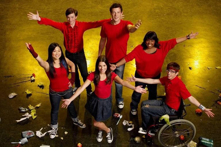 Imagens do seriado 'Glee'