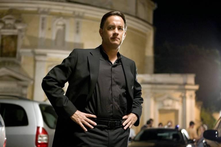 O ator Tom Hanks em cena do filme 'O Código Da Vinci