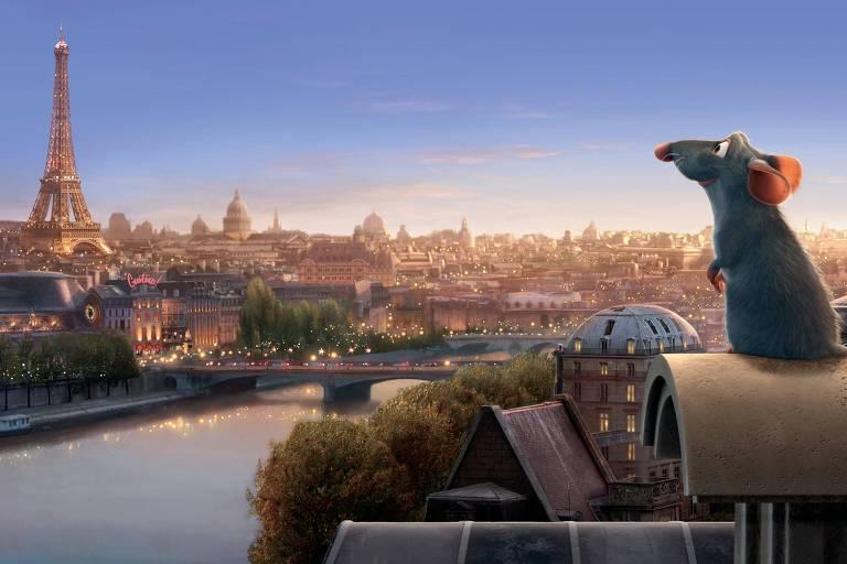 Cena da animação da Disney/Pixar 'Ratatouille', do diretor Brad Bird