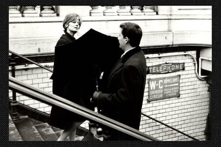 Cena do filme 'Paris visto por...', de 1965