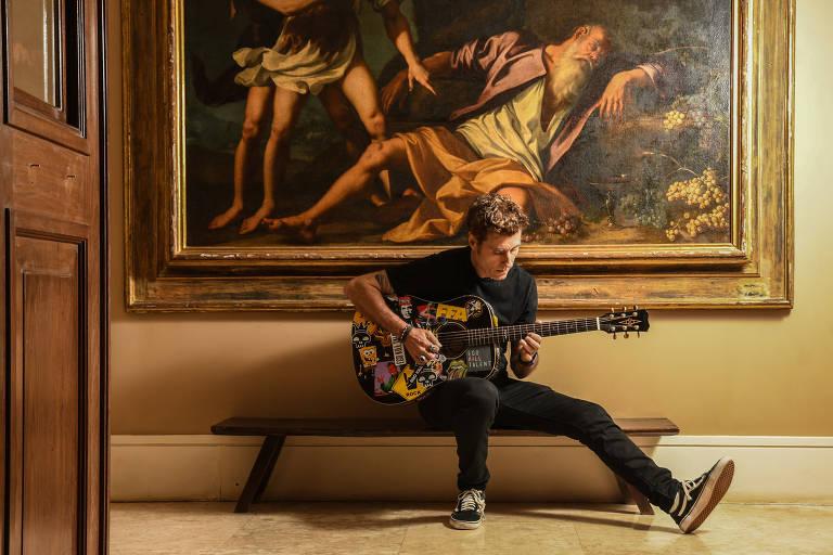 Dinho diz não se preocupar com a redução do espaço ocupado pelo rock no mainstream atual