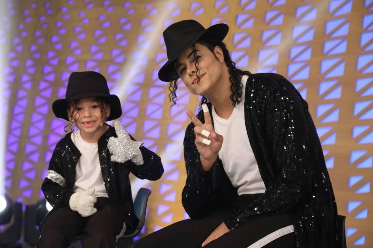 Covers de Michael Jackson na Record TV