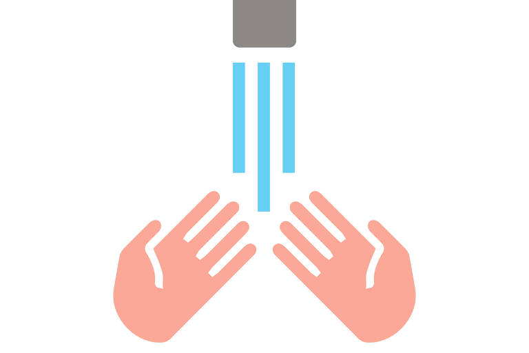 Veja como lavar as mãos