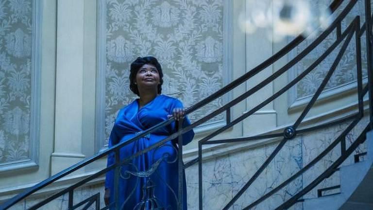 """Octavia Spencer em cena da série """"A Vida e a História de Madam C. J. Walker"""""""