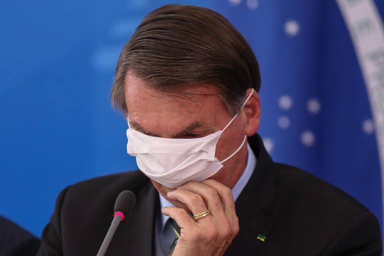 Representantes do governo em pronunciamentos sobre o coronavírus