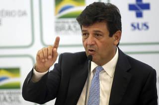 BRASIL-BRASILIA-MINISTRO DE SALUD-COVID 19