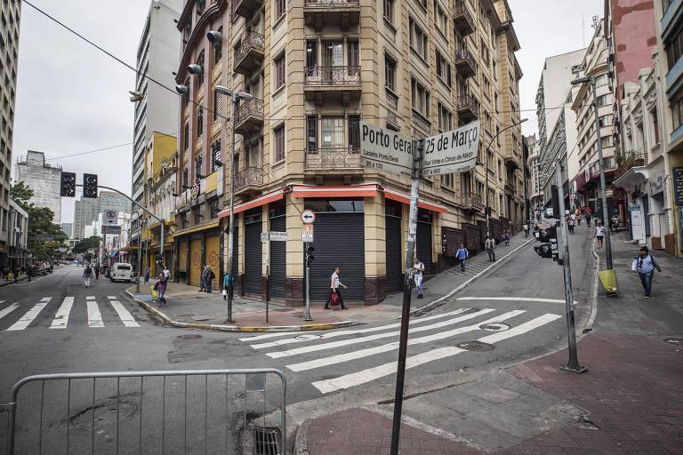 São Paulo vazia